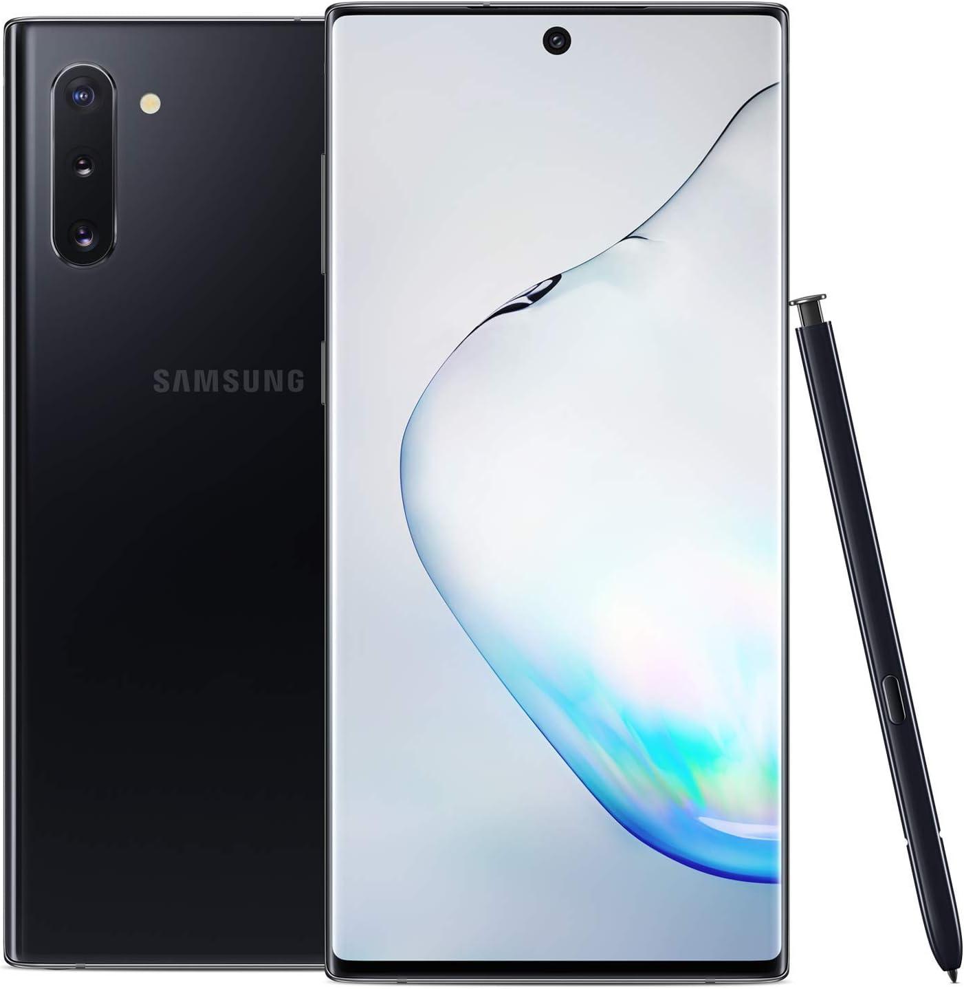 Refurbished Samsung Galaxy Note 10 - Year-end Miami Mall annual account 256GB Fully Black Aura