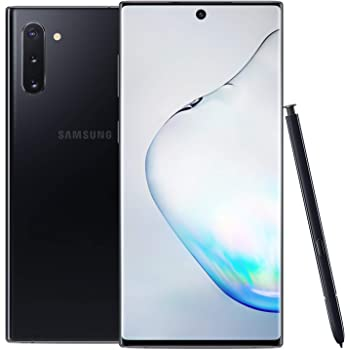 Samsung Galaxy Note 10, 256GB, Aura Black - Fully Unlocked (Renewed)