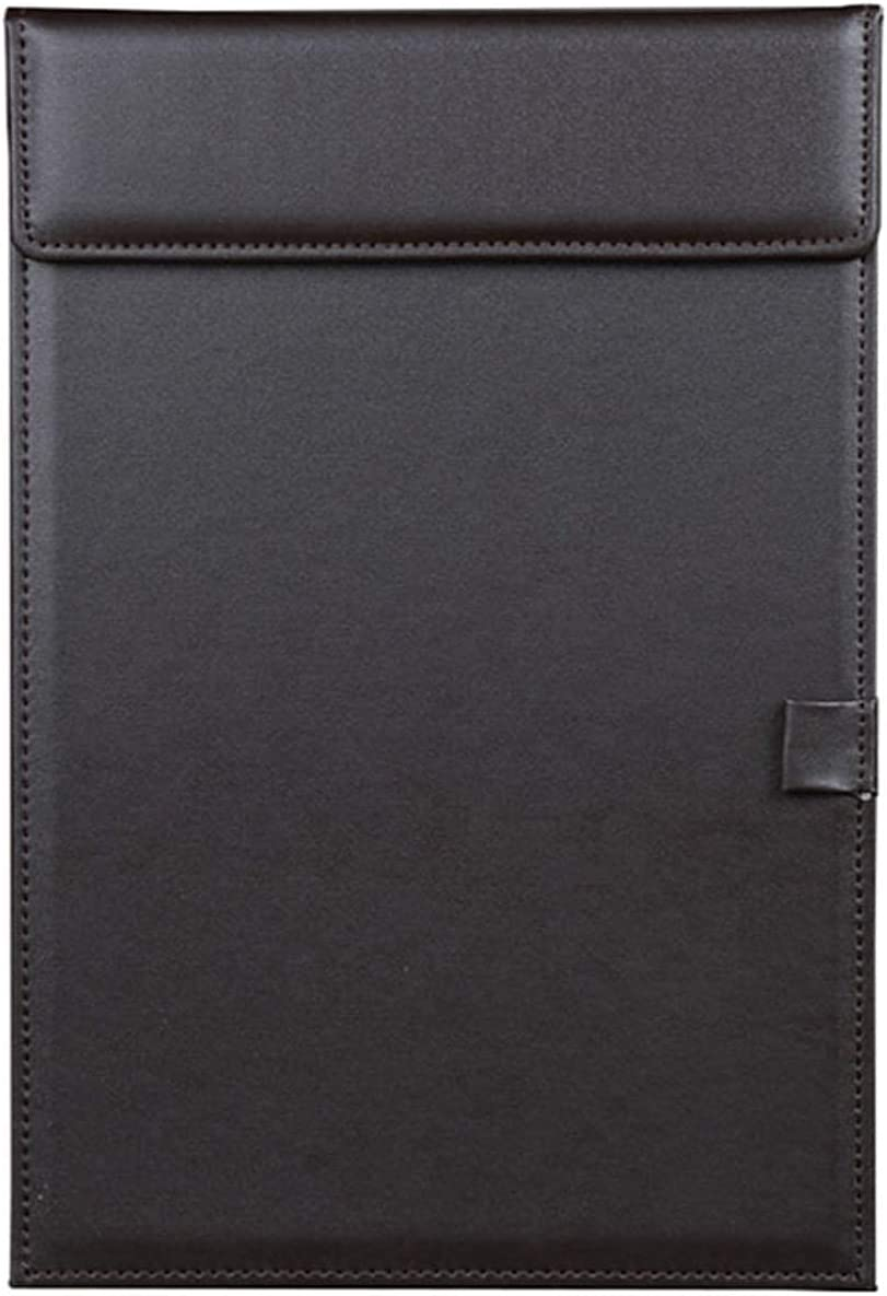 WZWHJ Exquisite Folder A4 Max 50% OFF and Letter Leather Size Fol Max 63% OFF Paper File