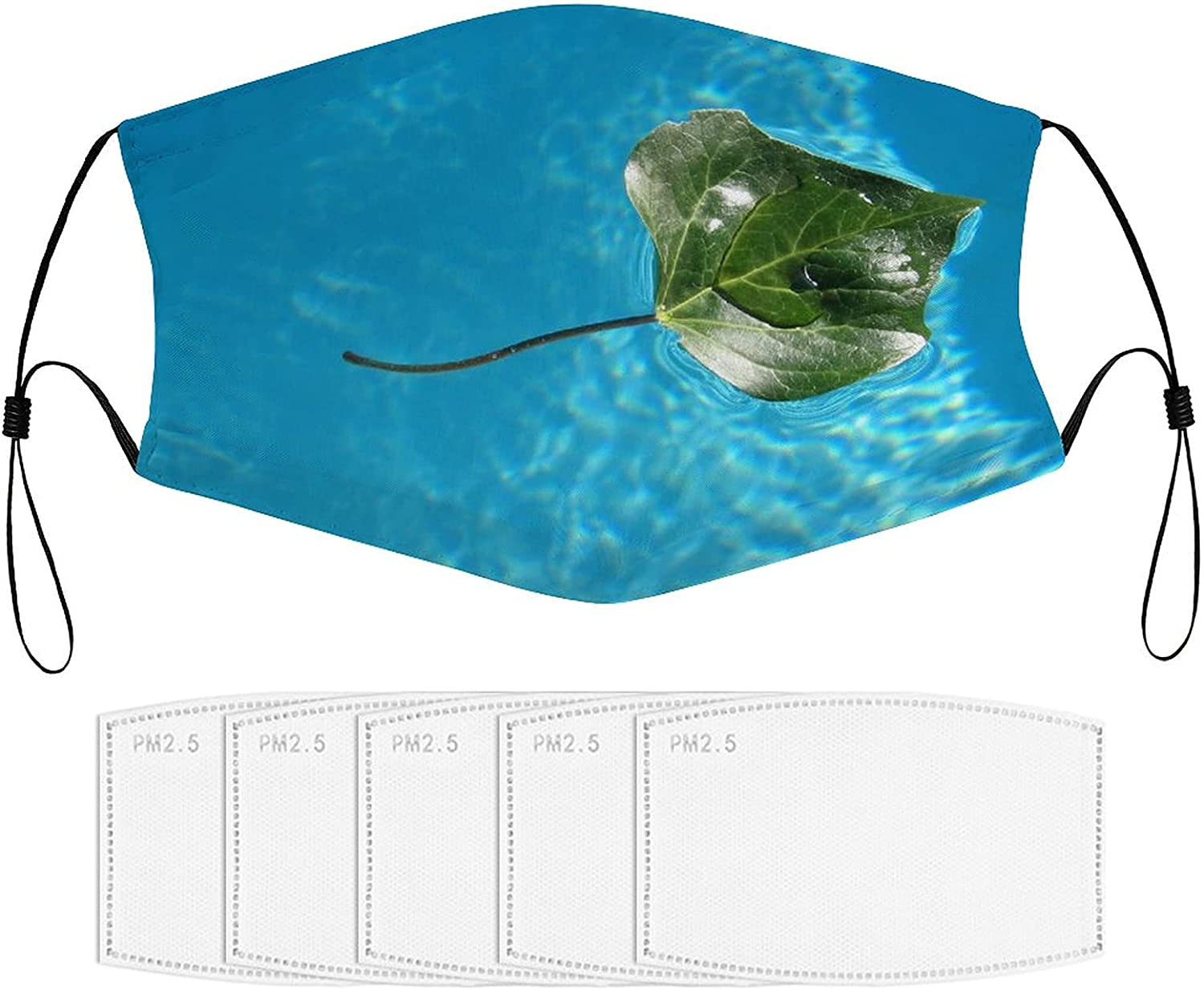 ZONFIND Children's Mask with Filters Minneapolis Mall Pool Rays Max 43% OFF Ska Stingray Leaf