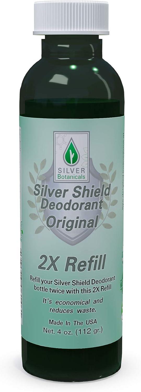 Silver Shield Deodorant 2X Refill New York Mall Formula - All items free shipping Natur Original All
