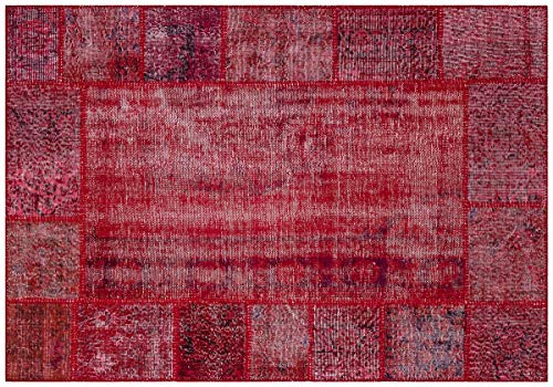 Alfombra turca de lana hecha a mano de patchwork Sbt negro Ölçü; 140x200cm 2.80m2
