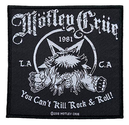 Motley Crue Can´t Kill Rock & Roll Parche tejido y licencia