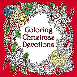 Coloring Christmas Devotions {A Book Review}