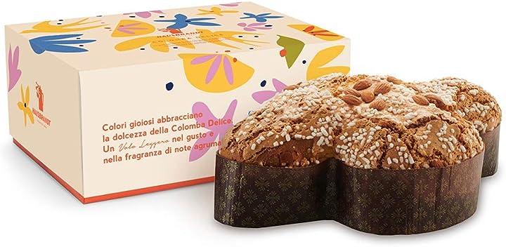 Colomba pasquale delice con scatola 1000g - dolce pasquale a lievitazione naturale  hausbrandt B079T9CCS5