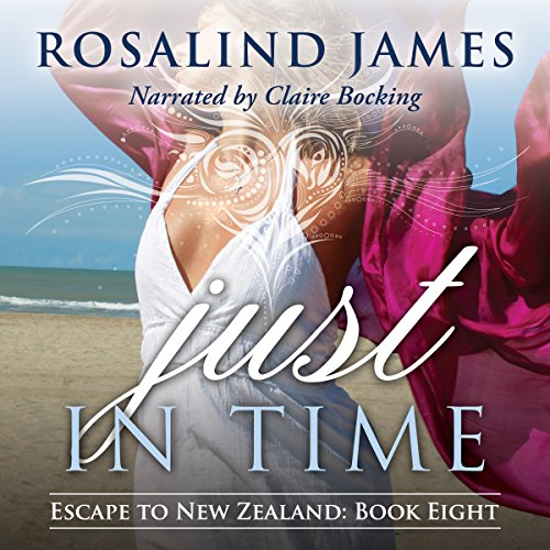 Just in Time     Escape to New Zealand, Book 8              Written by:                                                                                                                                 Rosalind James                               Narrated by:                                                                                                                                 Claire Bocking                      Length: 12 hrs and 32 mins     1 rating     Overall 5.0