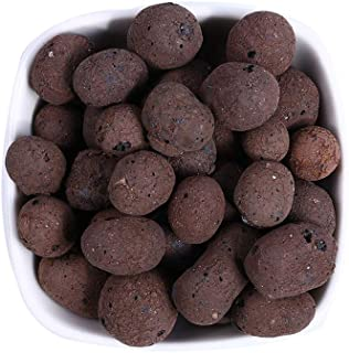 Clay Pebbles Hydroponic/Aquaponics Orchid Natural Clay Flowers Plant Growing Media Round Organic Porous Expanded Rocks Plant Food for Living Room Garden by Forewan