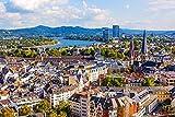 DesFoli Bonn Deutschland Skyline Stadt Poster Kunstdruck
