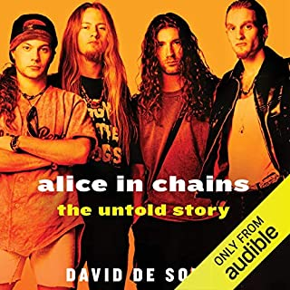 Alice in Chains audiobook cover art