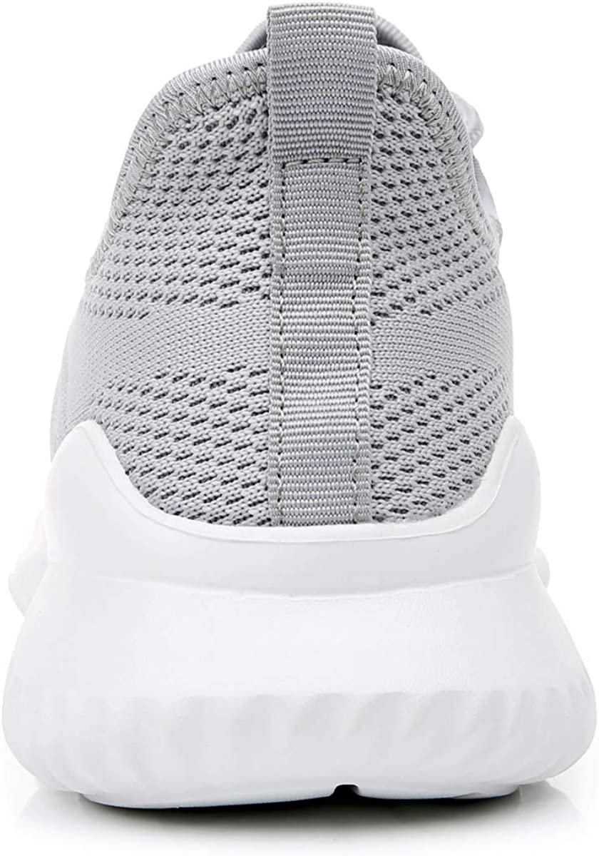 M Impdoo Mens Memory Foam Slip On Walking Sneakers Comfortable Sports Athletic Tennis Running Shoes/ US7-12 B
