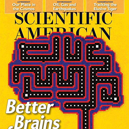 Scientific American, July 2016 audiobook cover art