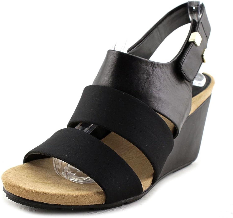 Alfani kvinnor elleana läder Open Open Open Toe Casual Platform Sandals  i stadionens kampanjer