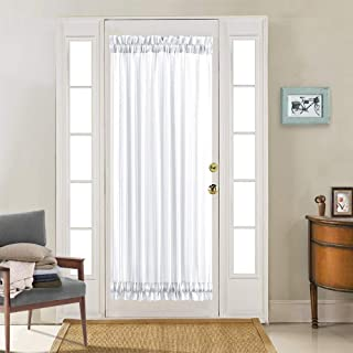Best brown french door curtains Reviews