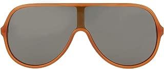 sunglasses (GG-0199-S 005) Transparent Brown - Gold - Grey lenses