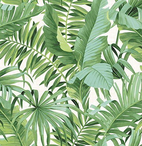 NuWallpaper NU2906 Maui Peel Stick Wallpaper Green product image