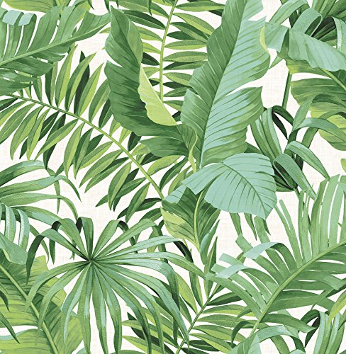 NuWallpaper NU2906 Maui Peel & Stick Wallpaper, Multi-Color