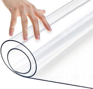 Spessore 1mm Tappetino per Ufficio Antiscivolo per Pavimenti in Legno Duro Sedia 30x30cm//11.81x11.81in Tappetino per Sedia da Ufficio Protezione per Tappetino in PVC Rettangolare