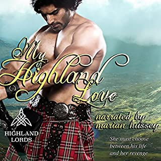My Highland Love audiobook cover art