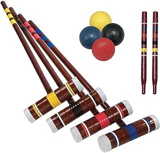 Franklin Sports Recreational 4 Player Croquet Set