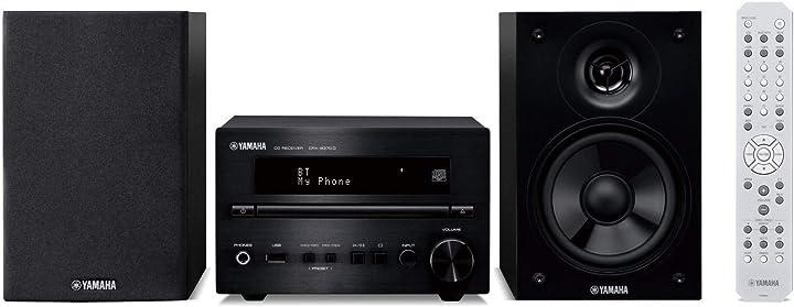 Yamaha mcr-b370dblpb, sistema micro hifi, nero/ner
