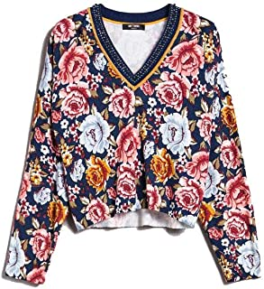 MY TWIN Luxury Fashion Womens 192MP323104082 Multicolor Jumper | Fall Winter 19