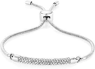 Buckley London Women Hampton Bracelet - Silver Tone
