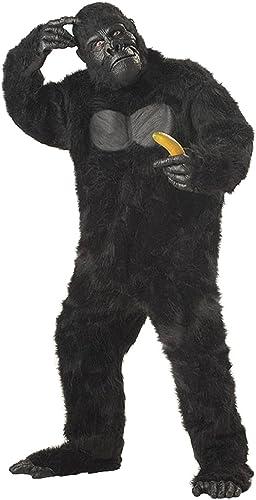 barato Deluxe - Disfraz de gorila para hombre, hombre, hombre, Talla única (44-46)  wholesape barato