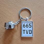Internetservice Timo Lindner Schlüsselanhänger Mit Individuellem Motorradkennzeichen Und Helm Nummernschild Motorrad Personalisiert Geschenk Auto