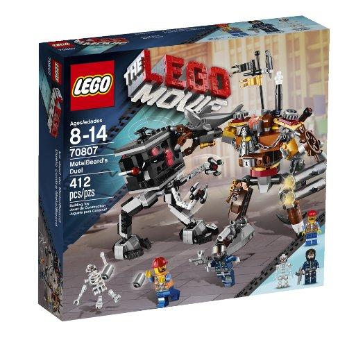 LEGO The Movie MetalBeard's Duel Niño 412pieza(s) Juego de construcción - Juegos de construcción (Multicolor, 8 año(s), 412 Pieza(s), Niño, 14 año(s))