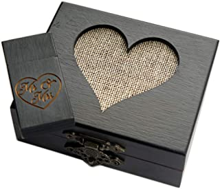 fabric heart boxes