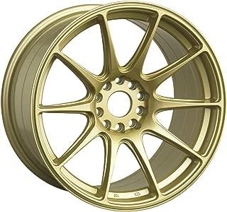 XXR WHEELS 527 Rim 16X8 4x100/4x4.5 Offset 20 Gold (Quantity of 1)