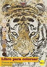 Libro para colorear - Pintura por Número - 9 pinturas: Dibuja tu propia pintura.