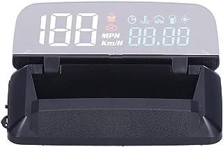 HUD Head Up Display Velocímetro,Carro Universal HUD Head Up Display Digital GPS Velocímetro com Placa de Reflexão, Projeto...