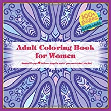 Adult Coloring Book for Women Mandala 100+ pages - You'll never change the world if you're worried about being liked.
