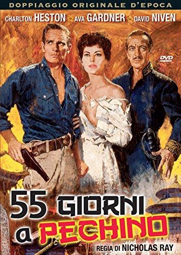 55 giorni a pechino regia di  nicholas ray genere: azione anno di produzione: 1963 [Italia] [DVD]