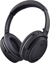 [2019 New] Avantree ANC032 Active Noise Cancelling Headphones, ANC Wireless Wired Bluetooth Headphones Over Ear with Mic, Comfortable Foldable, 18Hrs for Travel Work TV Computer Cellphone