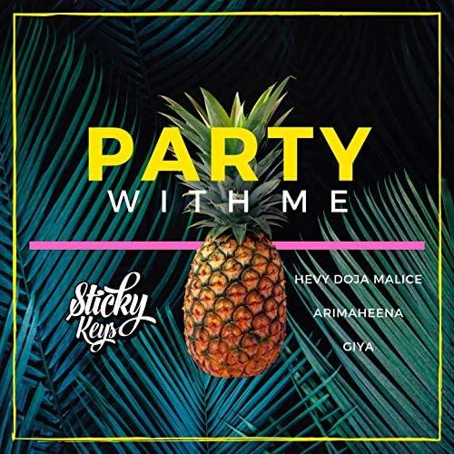 Sticky Keys feat. Hevy Doja Malice, Giya & ArimaHeena