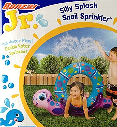 Silly Splash SNAIL SPRINKLER Inflatable Backyard Water Play (40 Long) by   Water Game