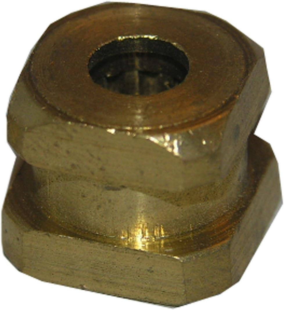 LASCO 01-4050 Brass Import Virginia Beach Mall Spud Adaptor Handle for 1- Faucet A-Broach