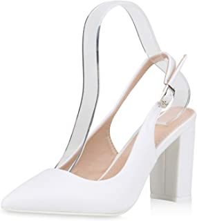 Suchergebnis auf für: slingpumps weiß: Schuhe