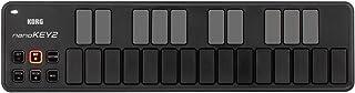 Korg NANOKEY2BK NANOKEY2-BK - Controlador MIDI 25 teclas (conector tipo USB), color negro