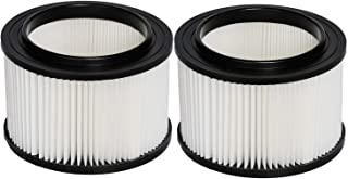HIFROM Replacement 17810 Filter for Craftsman Shop Vac 917810 Wet Dry Vacuum Filter Fits 3 & 4 Gallon,9-17810 Shop Vac Vacuum Filter (2 Pack)