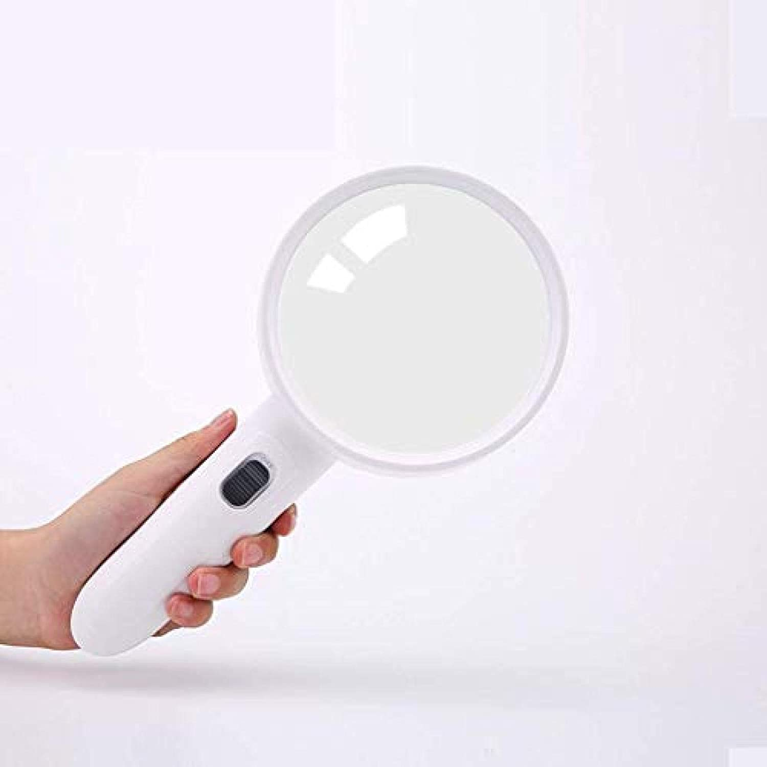 Handheld Reading Magnifier Illuminat Year-end gift Magnifying Max 60% OFF Glass