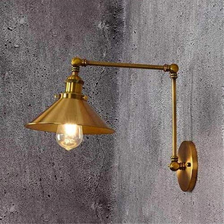 Wandleuchte Bronze Lange Lichter Schlafzimmer Nacht Restaurant Bar Cafe Mall Retractable Schwingen Indoor Kronleuchter Lightings