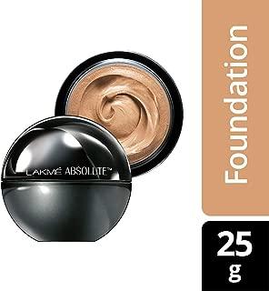LAKME Absolute Skin Natural Mousse, Golden Medium - 25 gm