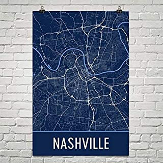 Nashville Poster, Nashville Art Print, Nashville Wall Art, Nashville Map, Nashville City Map, Nashville Tennessee City Map Art,Nashville Gift,Nashville Decor, (24