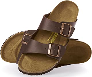 gray suede sandals