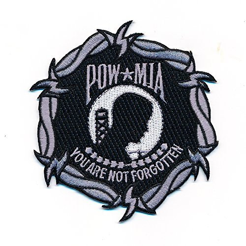 85 x 90 mm VARO POW * Mia VARO POW MIA Mount VARO POW/MIA powmia Patch écusson thermocollant 0896