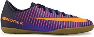 Kids MercurialX Victory VI Indoor Pure Dynasty/Bright Citrus/Hyper Grape Soccer Shoes