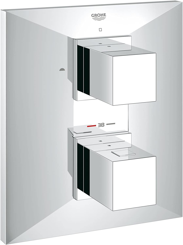 GROHE  Allure Brilliant Thermostat mit integrierter 2-Wege-Umstellung für Wanne oder Dusche mit mehr als einer Brause  19792000